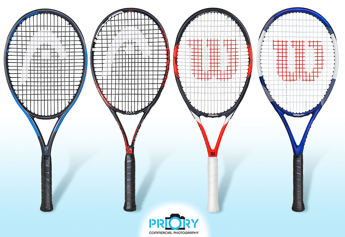 sports equipment product photography