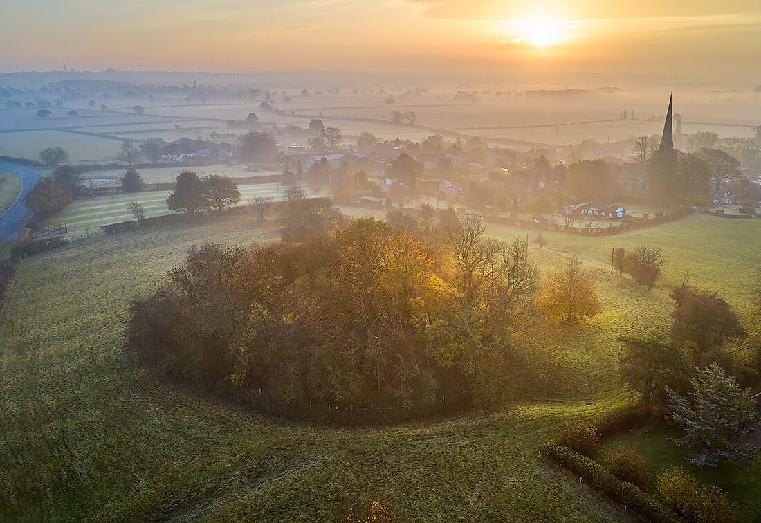 Seckington Motte and Bailey Castle, North Warwickshire