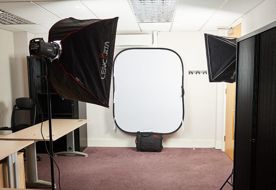 solicitors headshots portable studio