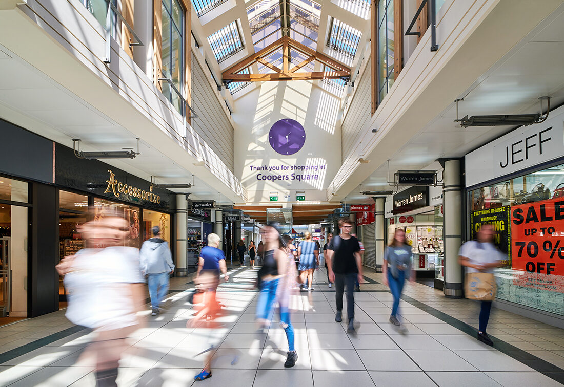 Coopers Square shopping Centre Photography, Burton.